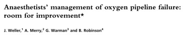 Review in Anaesthesia 2007